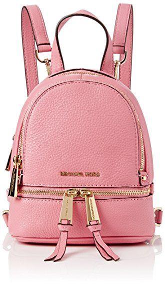 michael kors rhea zip petit sac dos femme rose pink mode femme accessoires
