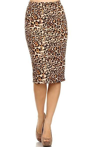 2340a1547e Elegant Leopard Pencil Dress. Elegant Leopard Pencil Dress Printed Pencil  Skirt