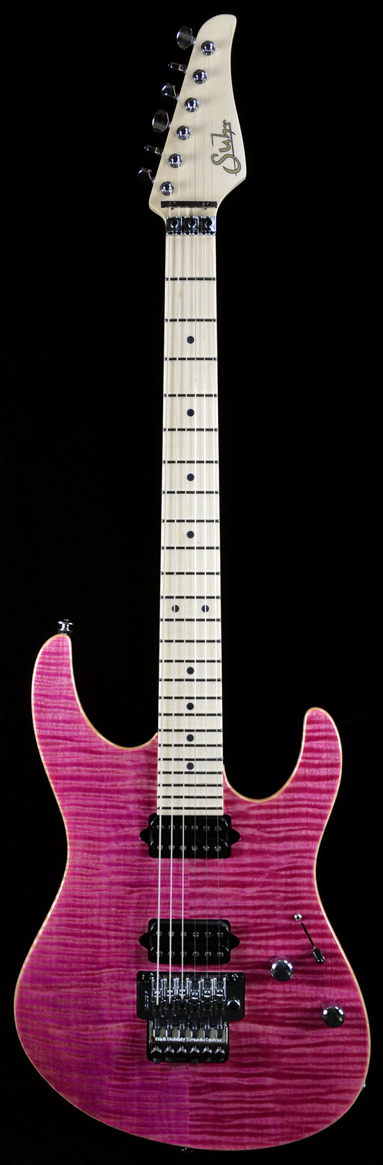 Wild West Guitars : Magenta Pink Stain