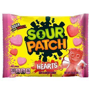 Sour Patch Valentines Hearts 10 Oz Sour Patch Valentine Candy Sour Patch Kids