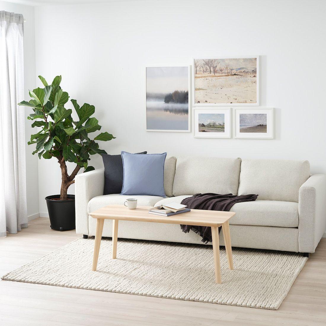 Hjortsvang Vloerkleed Handgemaakt Ecru 160x230 Cm Ikea In 2021 Ikea Area Rugs Ikea Rugs In Living Room [ 1100 x 1100 Pixel ]