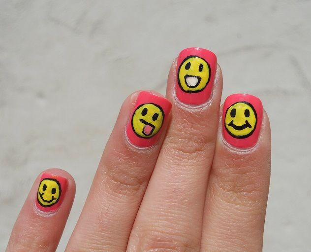 Le nail art qui donne du sourire !