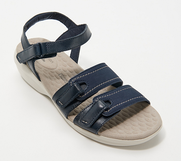 Clarks Collection Leather Sandals