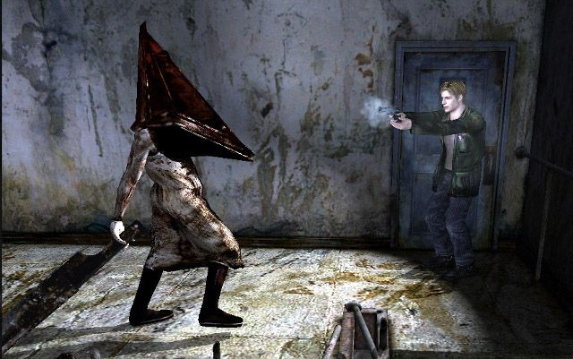 Silent Hill 2 First Encounter Pyramid Head Was One Of The