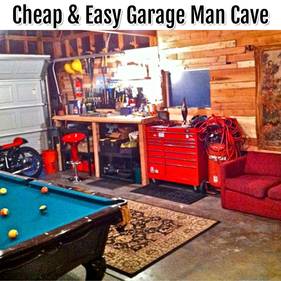Man Cave Ideas Garage Man Cave Ideas On A Budget Clever Diy Ideas Man Cave Garage Garage Game Rooms Man Cave Diy