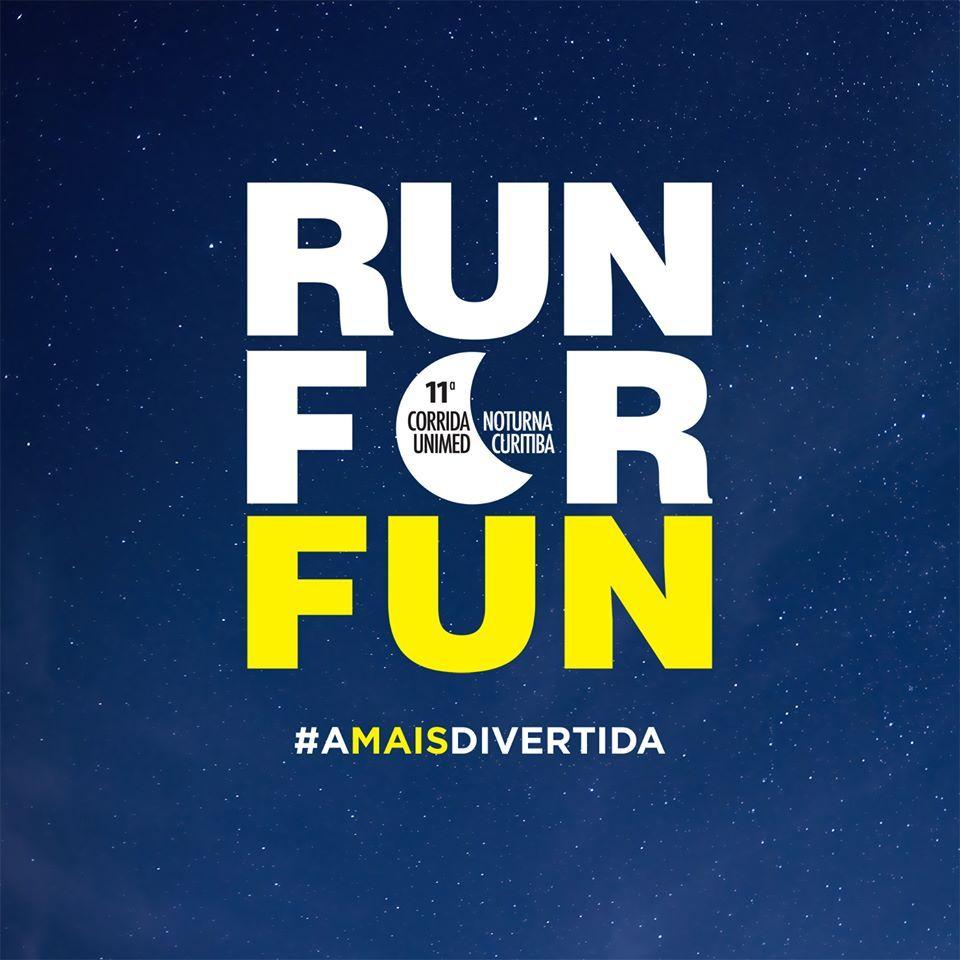 Sabe por que a nossa corrida é diferente? Simples: porque ela é a mais divertida!  Prepare o tênis, alongue o sorriso e, claro, o bom humor. Eles serão bem úteis no dia 14/03. Não fique de fora: http://www.esporteunimedcuritiba.com.br/  #AmaisDivertida #RunForFun