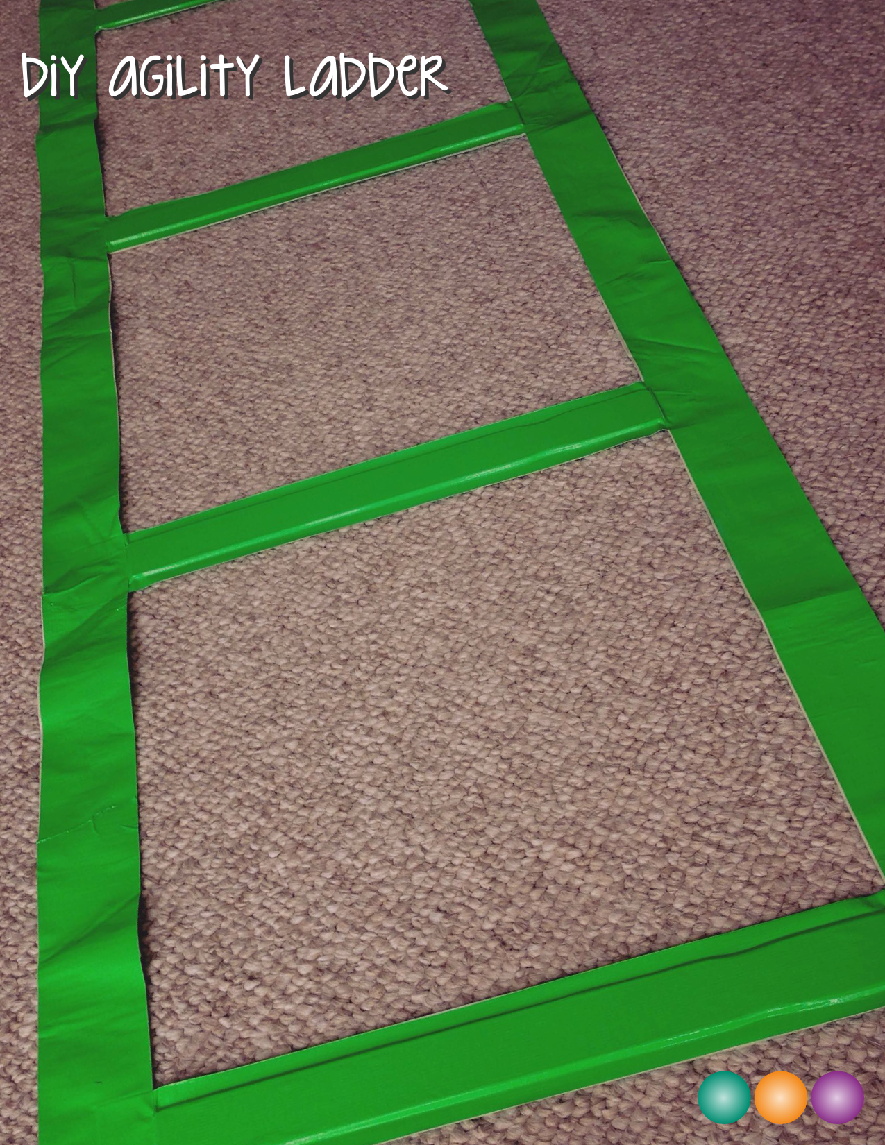 Save Your Green And Make An Agility Ladder For Free Agility Ladder Diy Home Gym Agile