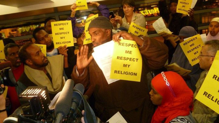 Muslim workers protest Hertz - never hire an islamist.