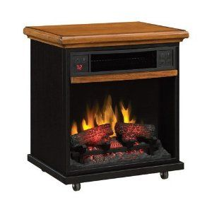 Duraflame Portable Infrared Quartz Fireplace 1500 Watts Model