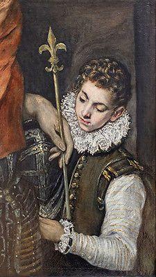 El #greco - #saint #louis roi de france et un vintage fine art print,  View more on the LINK: http://www.zeppy.io/product/gb/2/261998242436/