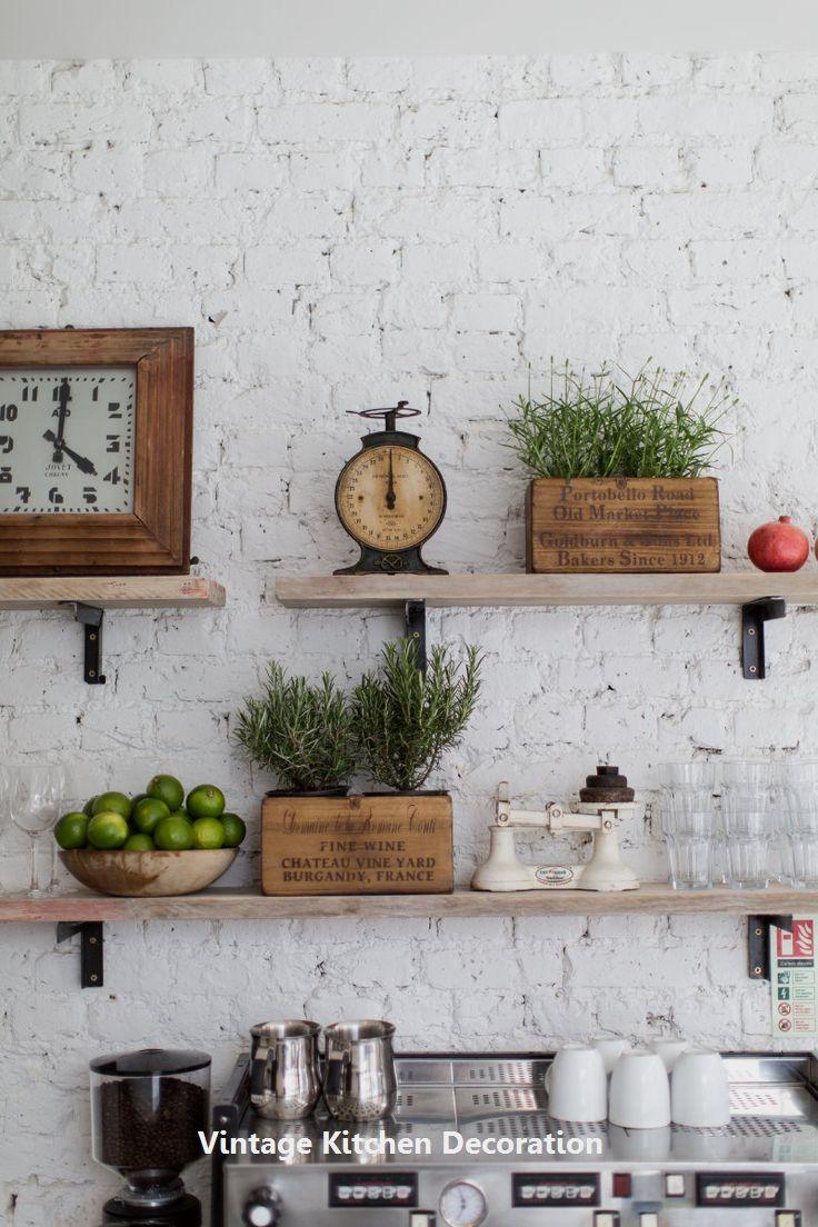 DIY Vintage Ideas For Kitchen: 1. Wooden kitchen cupboard | bodas ...