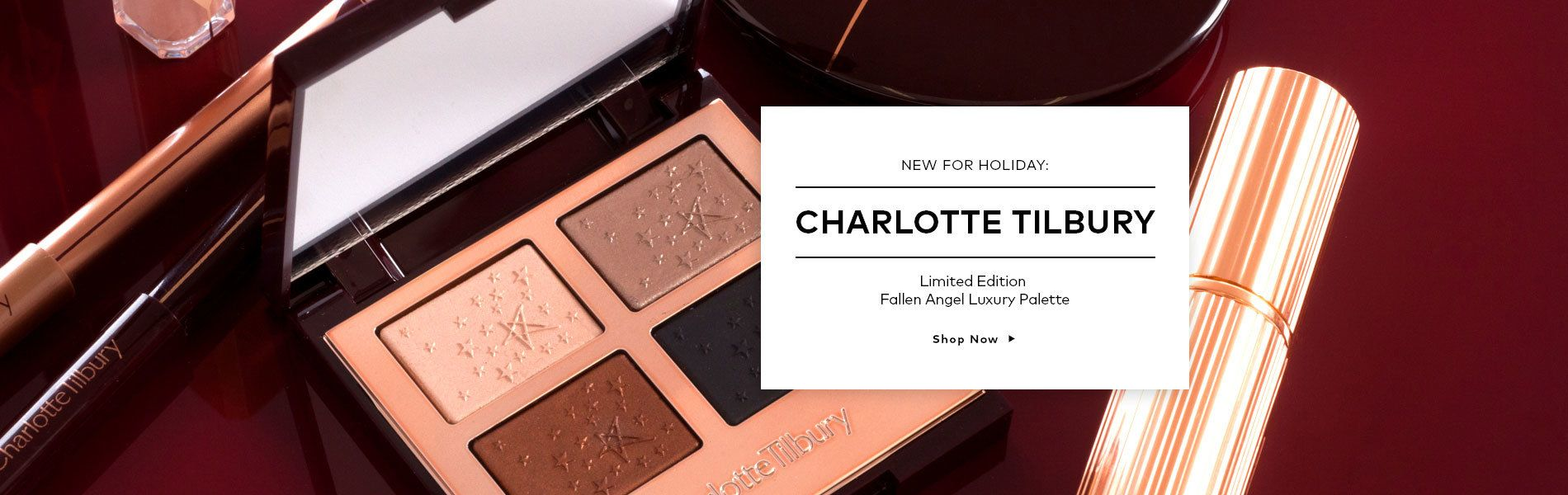 NEW! | at Beautylish, Charlotte Tilbury LE Fallen Angel Luxury Palette and Holiday Collection/Supermodel Collection available at Beautylish!