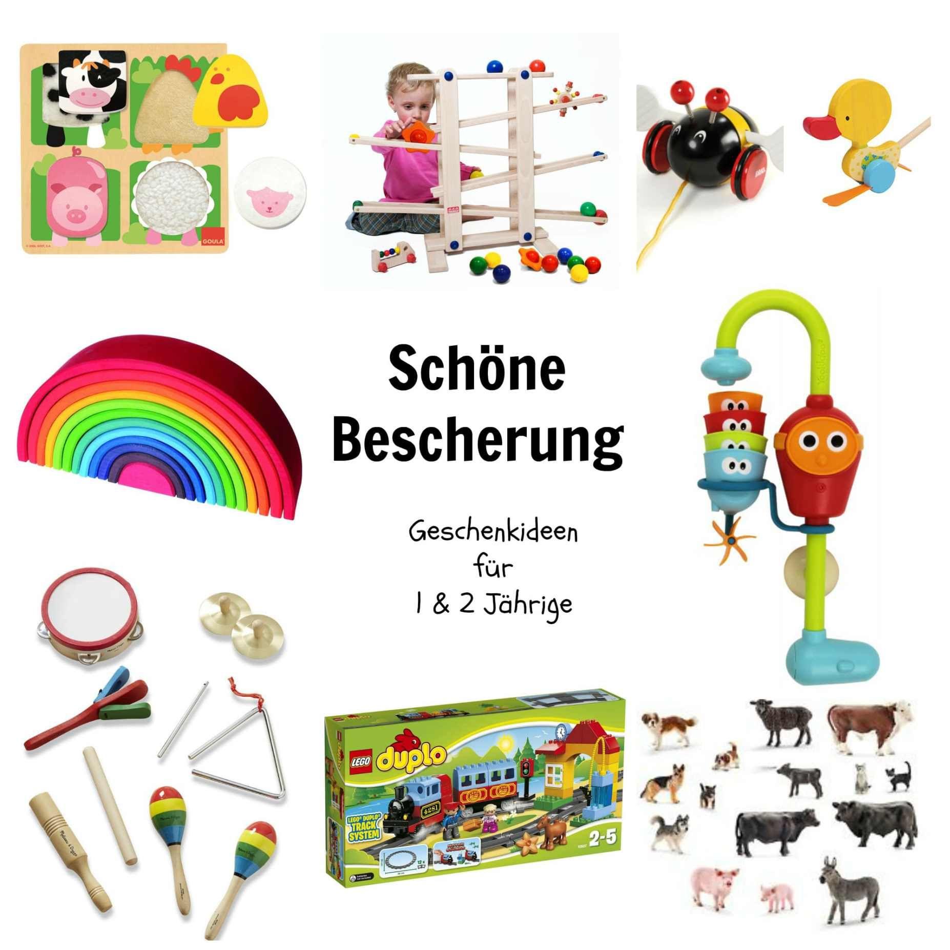 Schöne Bescherung: Geschenkideen für 1- bis 2-Jährige | Kinder ...