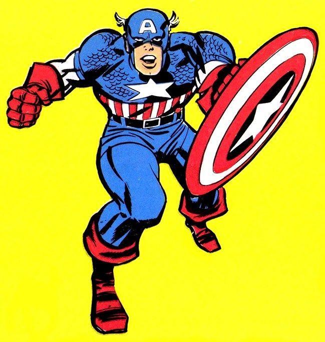 Resultado de imagen para jack kirby captain america