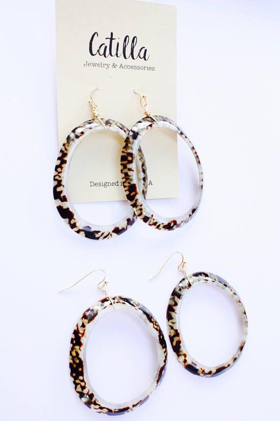 Urban Hoop Earrings, Big Hoop Earrings, Wire Wrapped Hoops, Trending ...