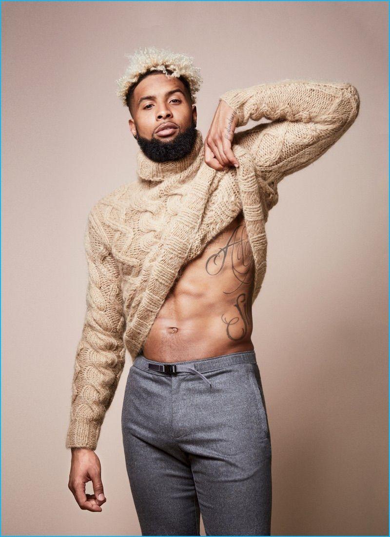 6f7244e03fbf36 Odell Beckham Jr. Rocks Fall Fashions for GQ, Talks How Fame Affects ...