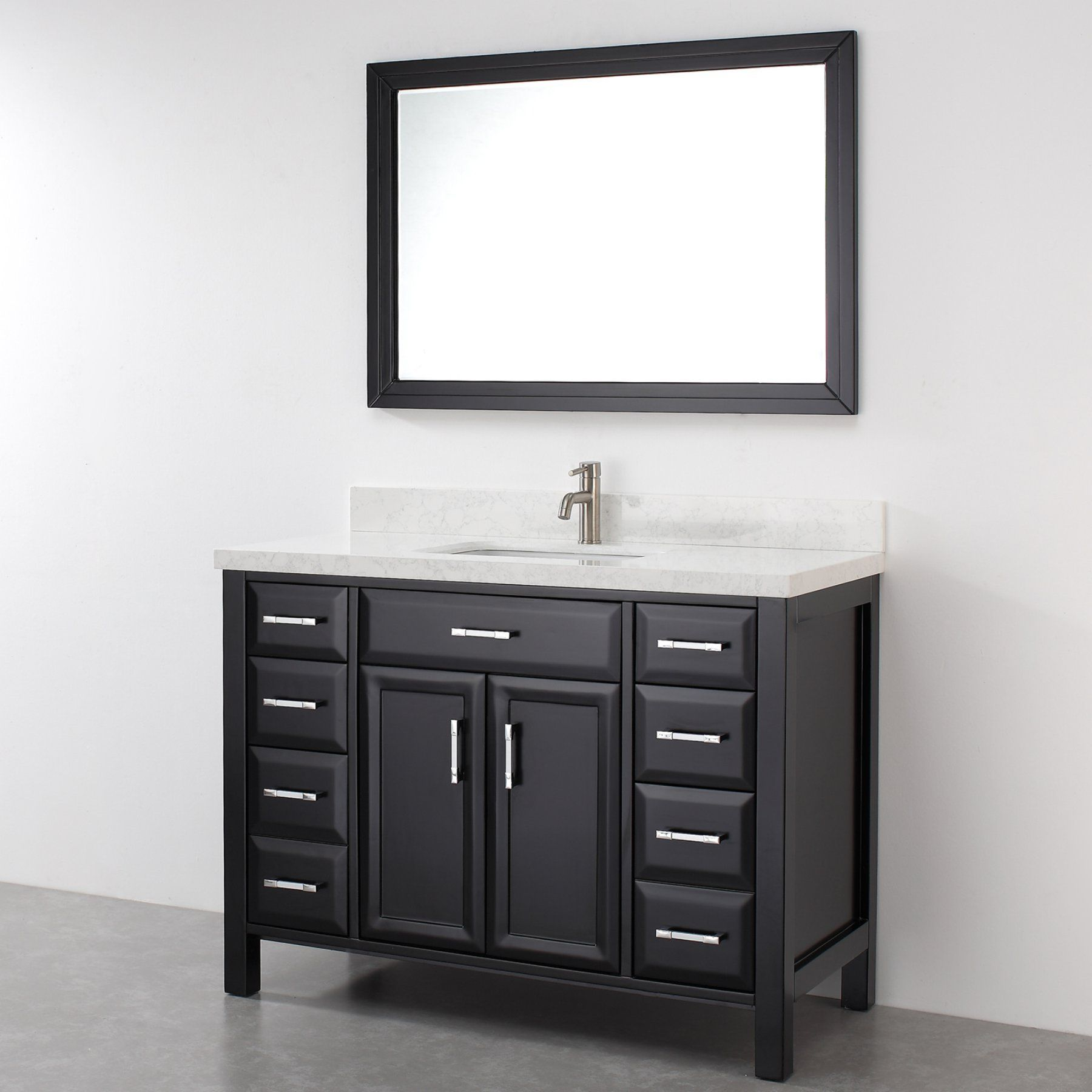 Bauhaus Bath Caledonia 48 In Single Bathroom Vanity Set With