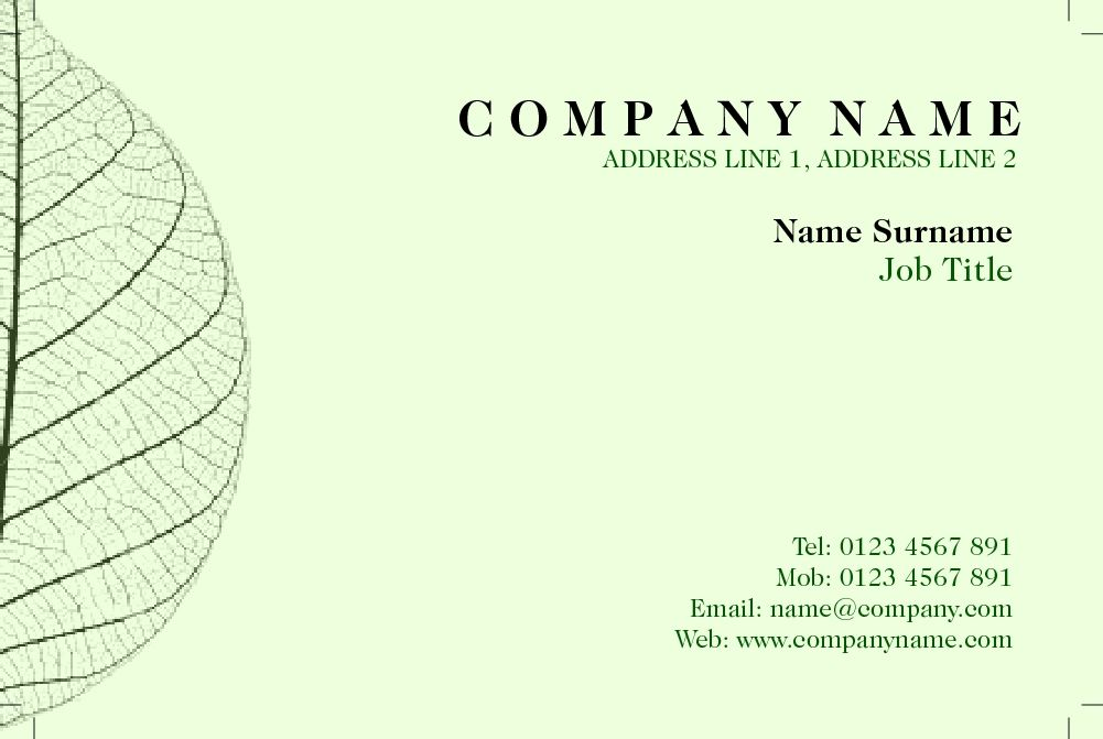 Great business card design for gardening / agricultural / natural ...
