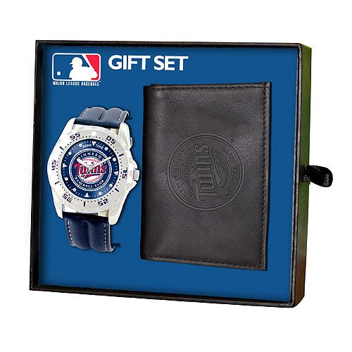 Minnesota Twins Watch and Wallet Gift Set by Game Time - MLB.com Shop