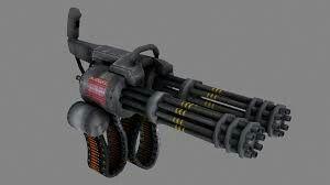 Double Barrel Minigun