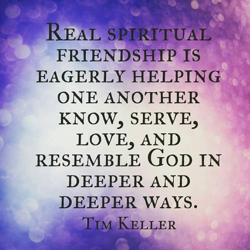Real Spiritual Friendship