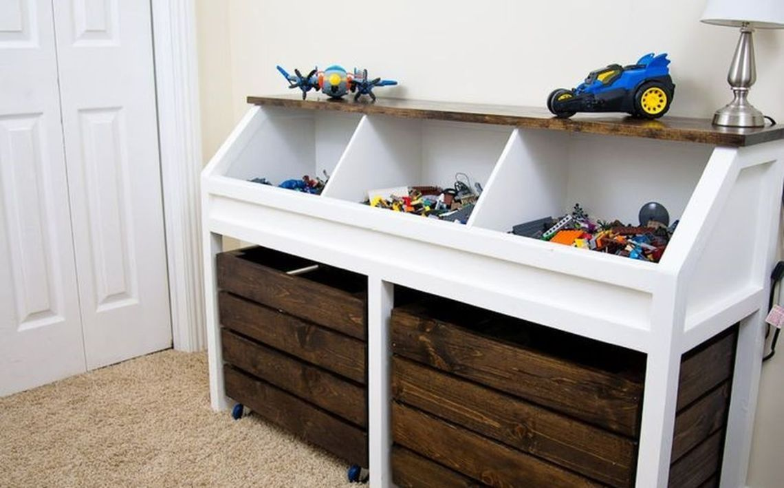 20 attractive toys box ideas for your kids toy box plans