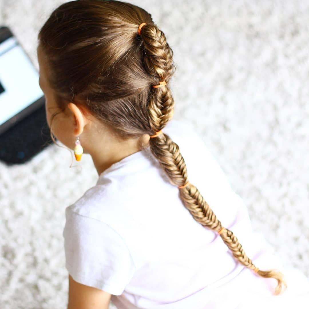 Cute girls hairstyle kids hair braids school hair easy hairstyles