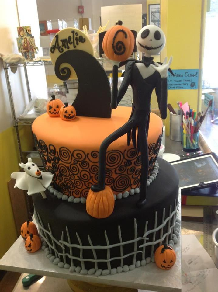 Nightmare Before Christmas cake, Sugarnomics Cake Studio Guam