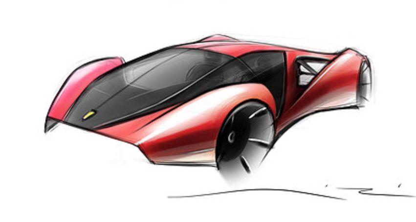 Ferrari F80 Concept Design , Adriano Raeli