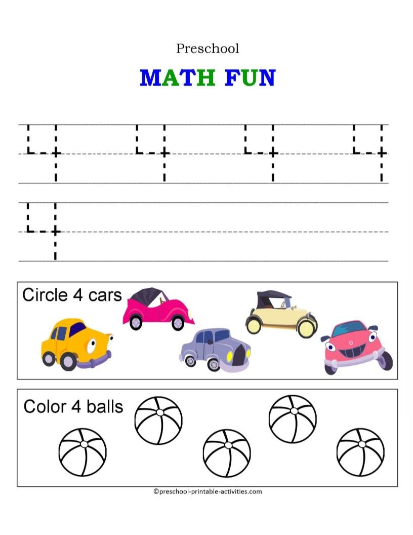 Number Worksheets School Number Worksheets Preschool