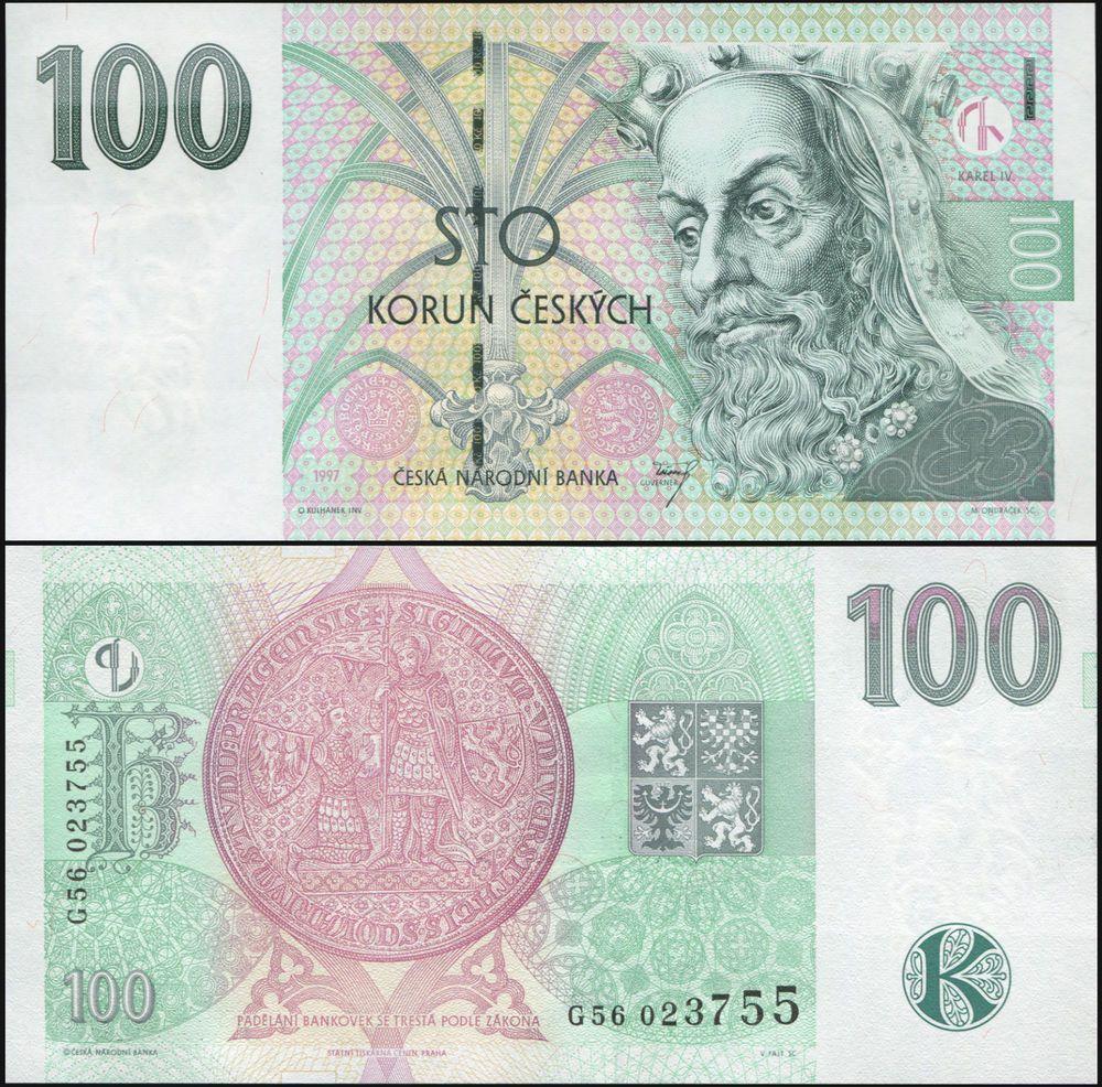 200 Korun Czech Republic UNC 1998 P-19