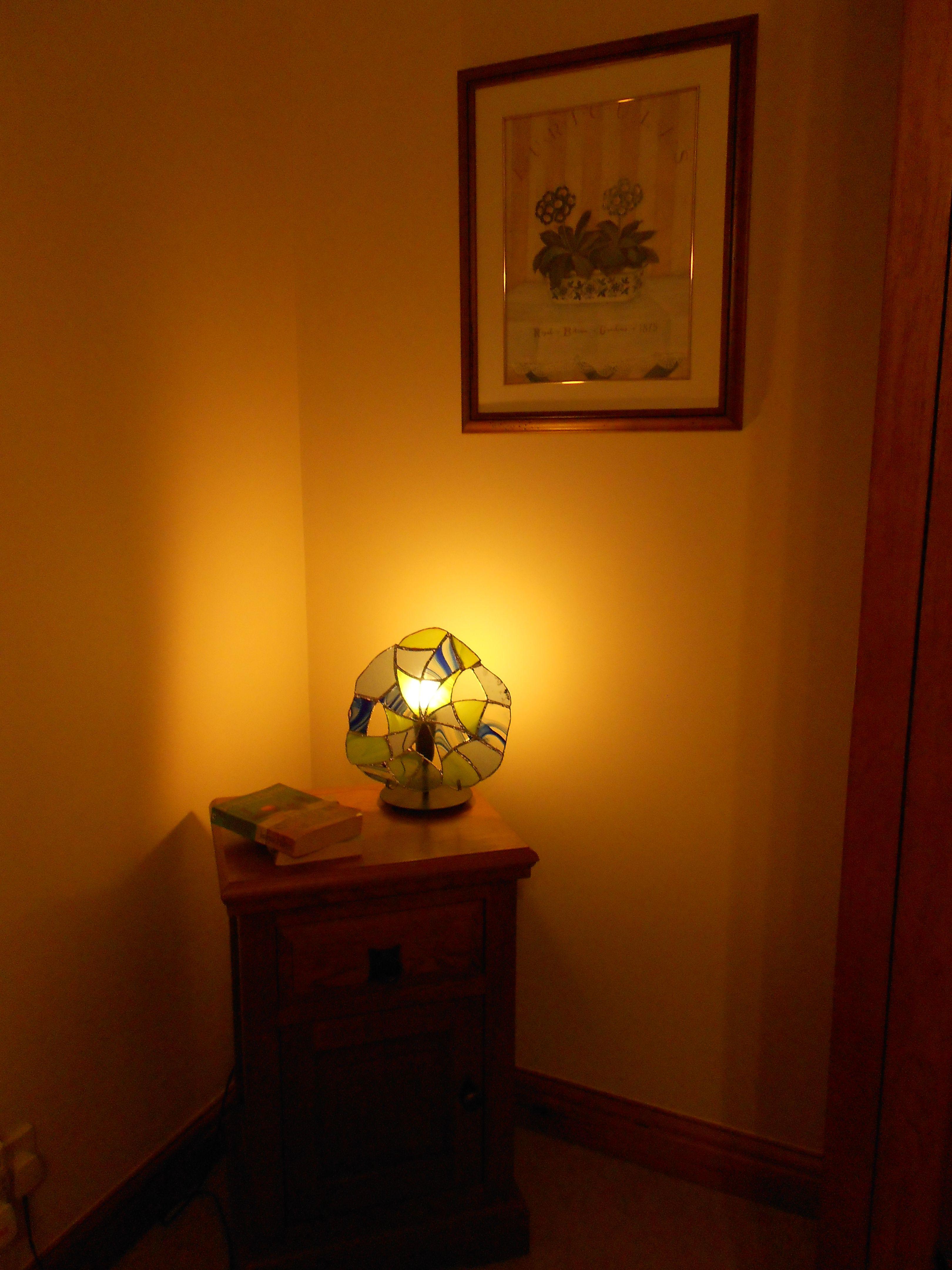 Cobweb inspired lamp