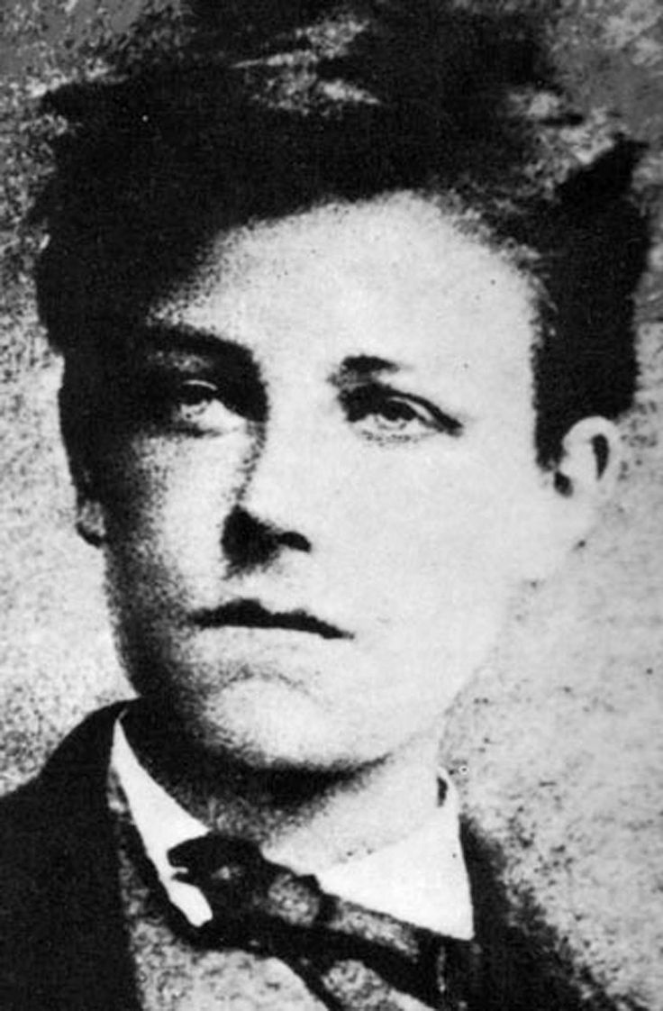 Portrait of poet Arthur RIMBAUD: