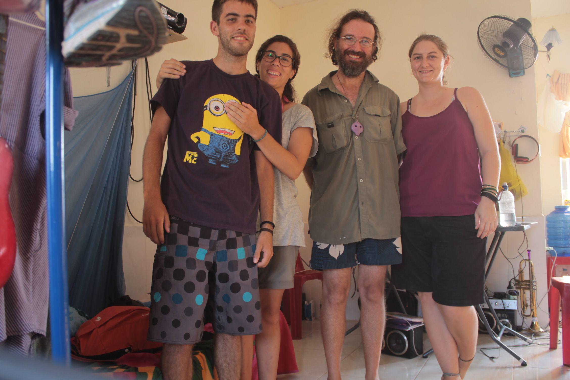 Con Kassandra y Tim, unos australianos la mar de majos