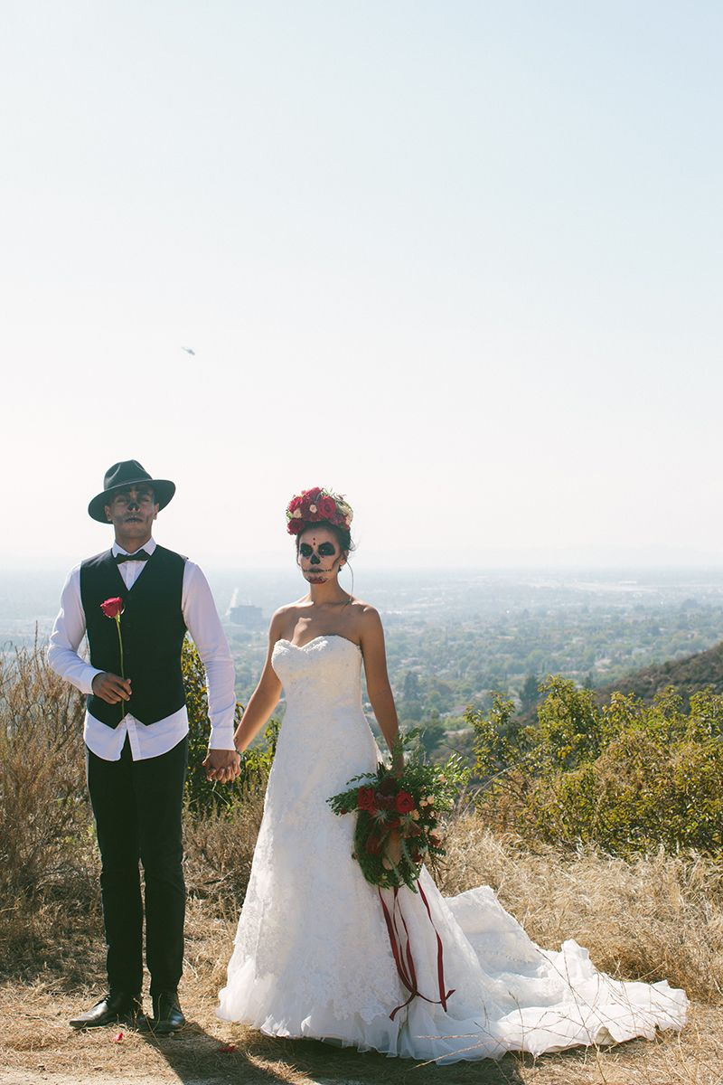 Day of the Dead Elopement | Elopements, Mexican themed weddings and ...