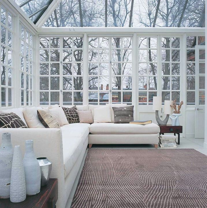 Loft Housedesign: Sunroom With A Glass Ceiling! I Have Always Wanted One And