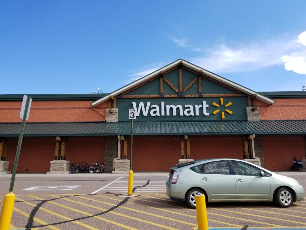 Woodland Park Co Walmart In A Log Cabin Style To Stay With Theme