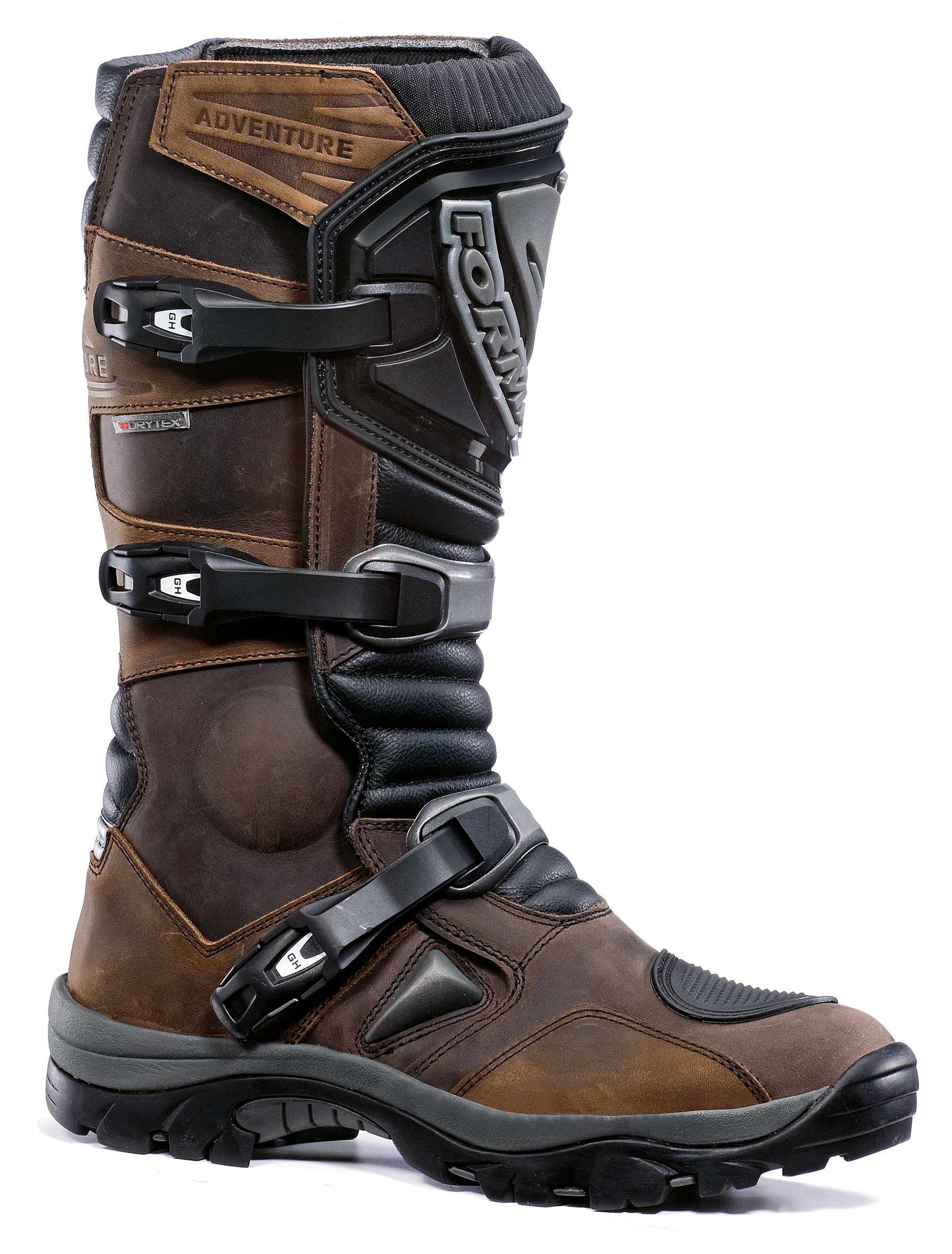 Cool motorcycle adventure boots | Adventure boots, Brown