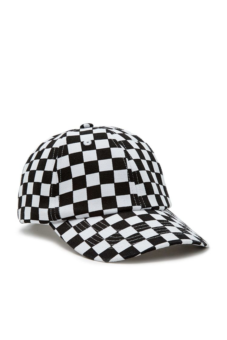 0b512c2d0de Checkered Baseball Cap. Checkered Baseball Cap Forever 21 ...