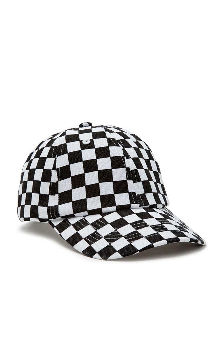 c36b7621e4a Checkered Baseball Cap. Checkered Baseball Cap Forever 21 ...