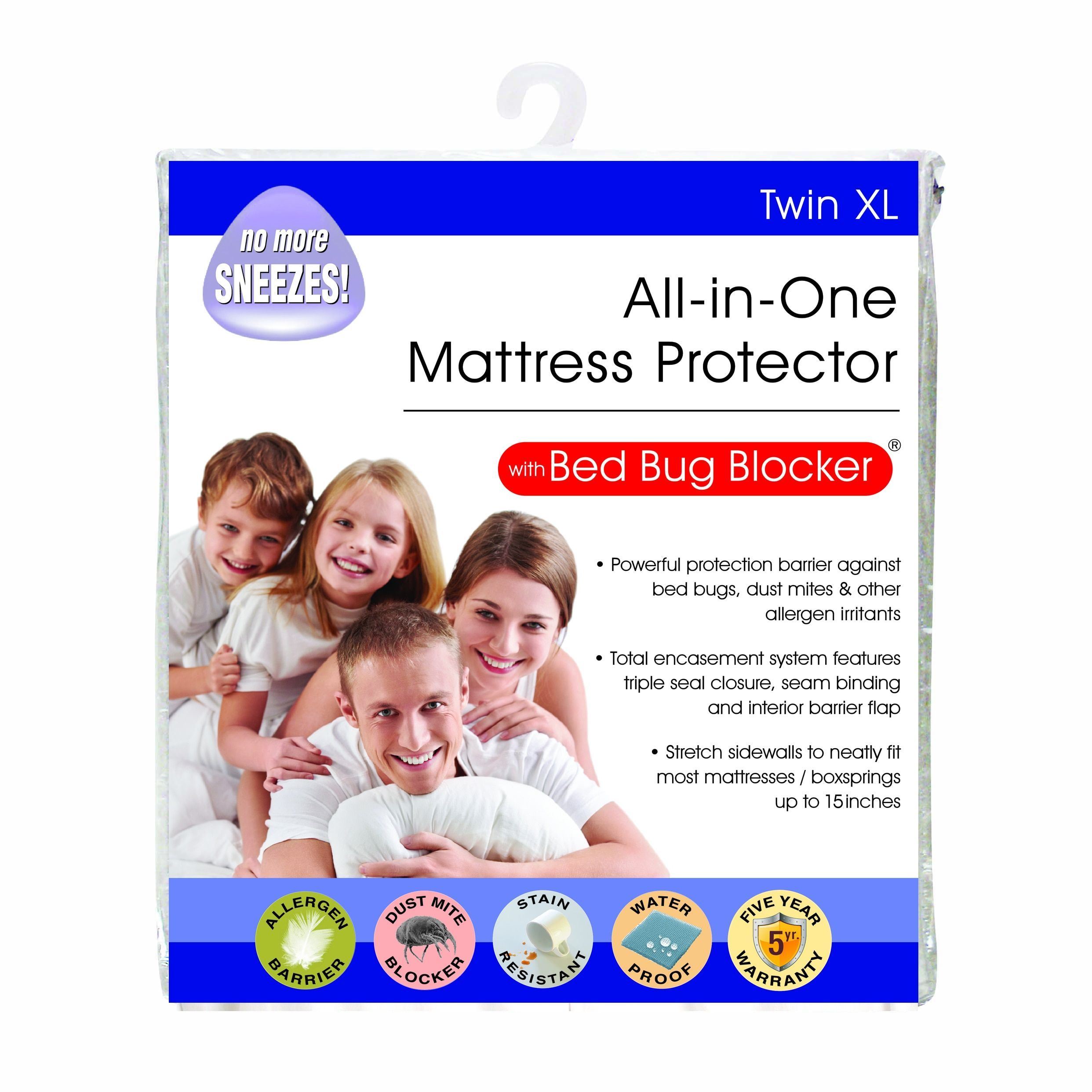 AllInOne Protection with Bed Bug Blocker Twin XL