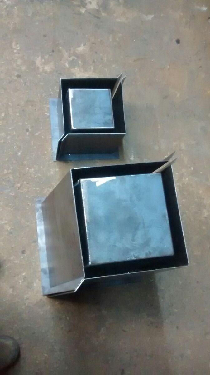 Molde para macetas de cemento combo de cubos macetas de - Moldes de cemento ...