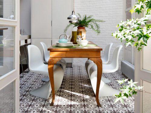 Come abbinare tavolo antico e sedie moderne | Tavoli ...