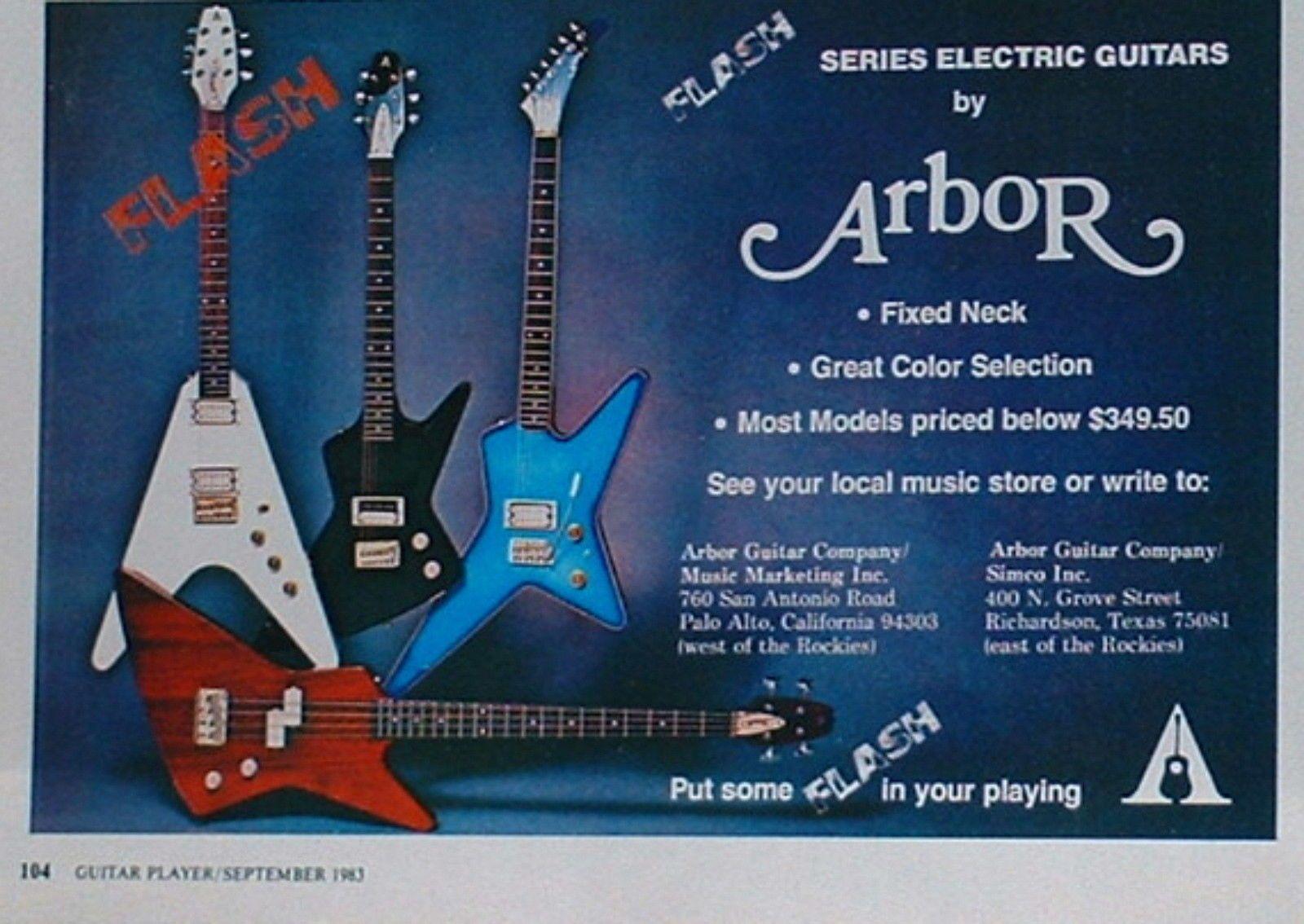 another advert | MIJ Arbor basses 1981-1985 | Pinterest | Bass