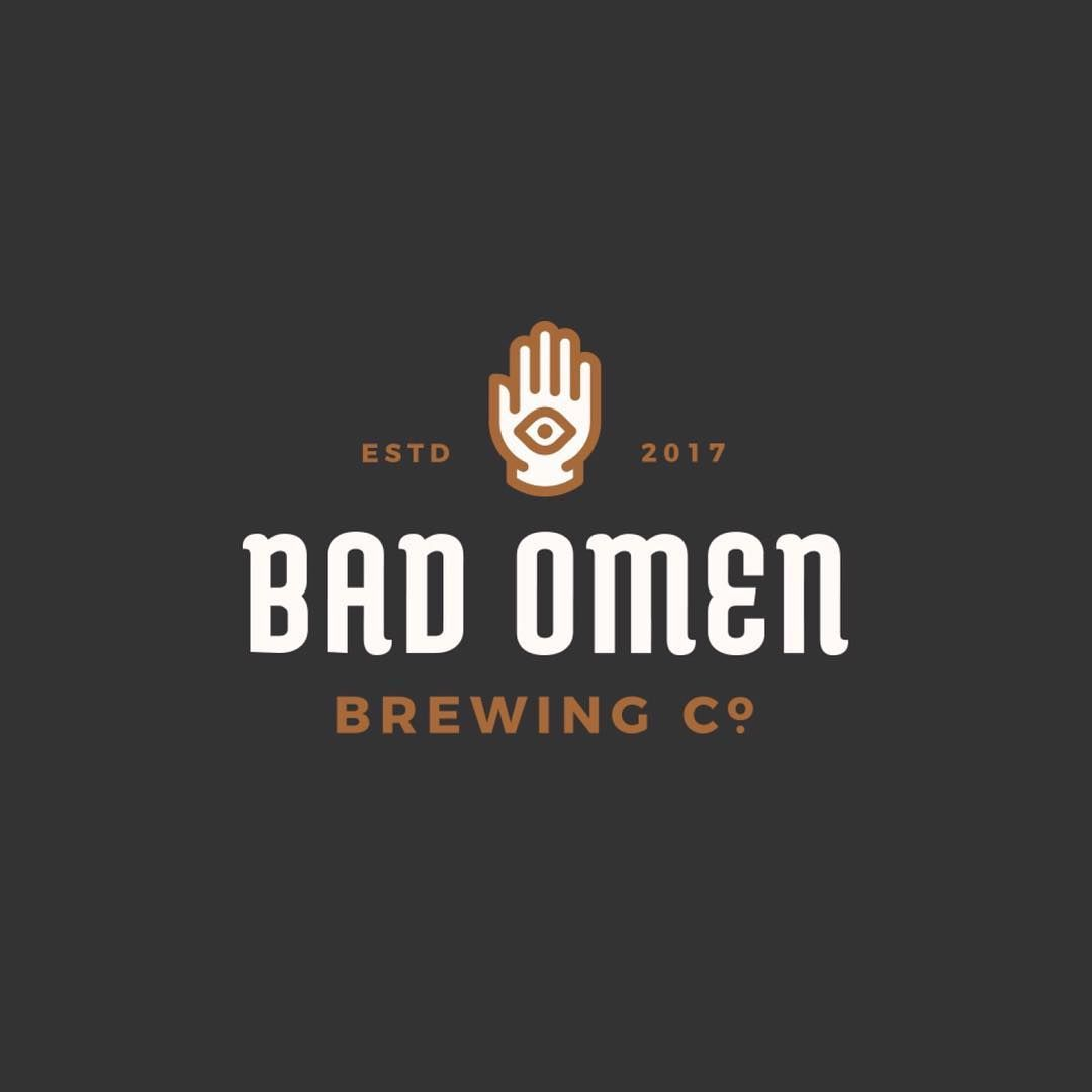 Bad design logo bad omen brewing co by ryanprudhomme  gd  logo education