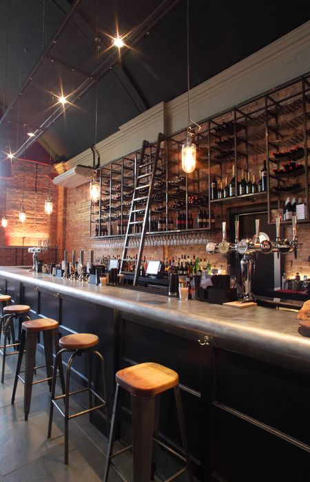 Cool Ladder And Good Distance For Taps On Front Bar Cool Beer