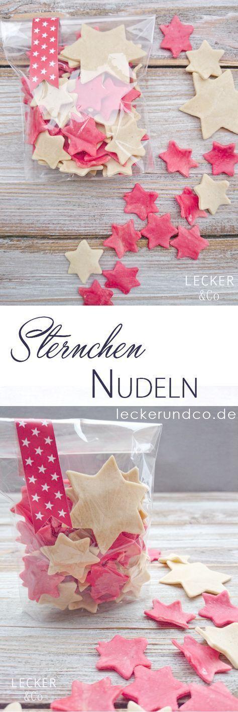 Asterisk Pasta – Homemade Pasta | LECKER & Co | Food blog from Nuremberg