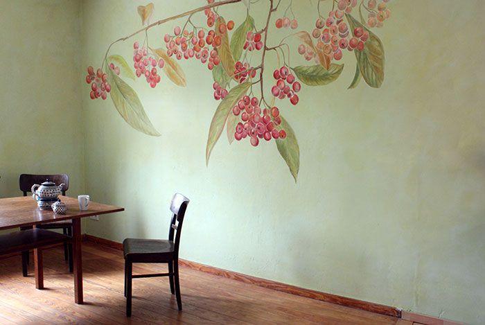 Attraktiv Landhaus Mit Wandgestaltung | Atelier Wandlungen