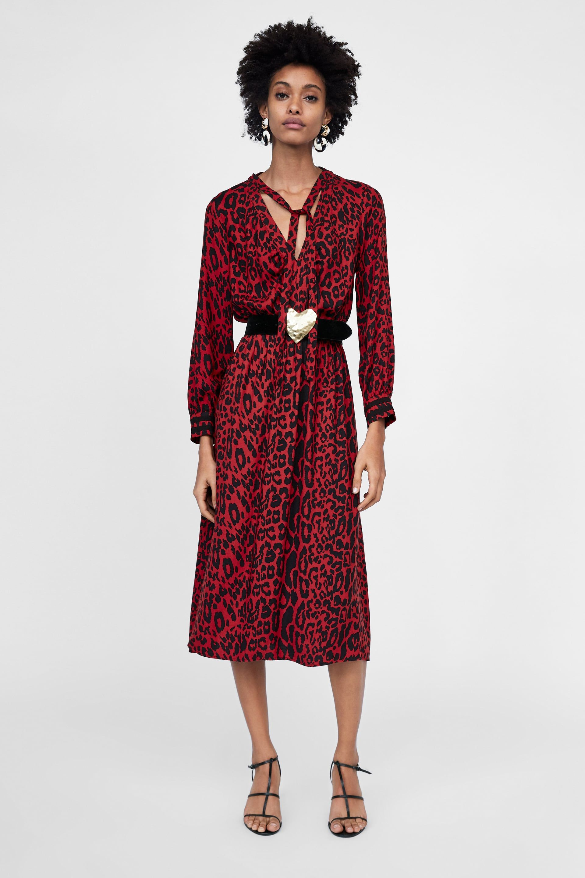 Image 1 of ANIMAL PRINT DRESS from Zara  d390ff347