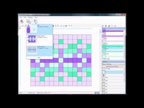 Fair Isle Knitting Pattern Design in 15 Minutes: EnvisioKnit Design Studio Knitting Software Demo - YouTube